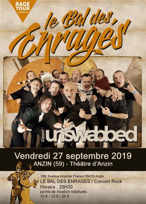 Le Bal des Enragés + Unswabbed