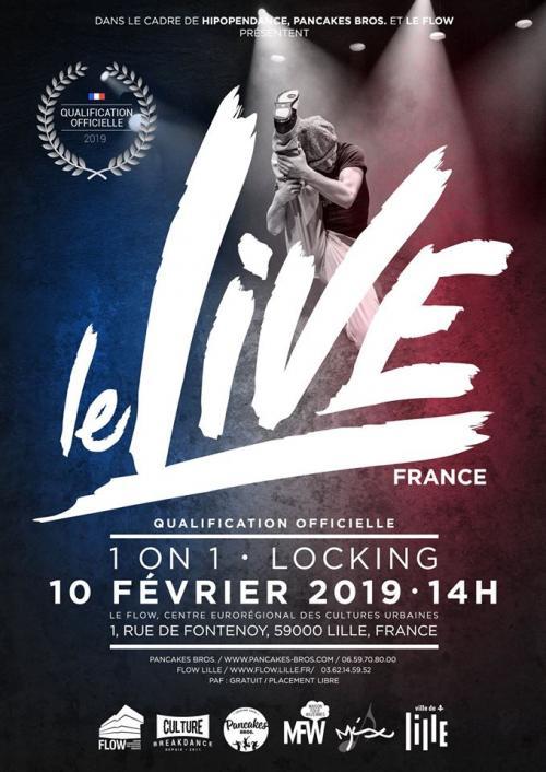 Le Live – Battle de danse hip-hop
