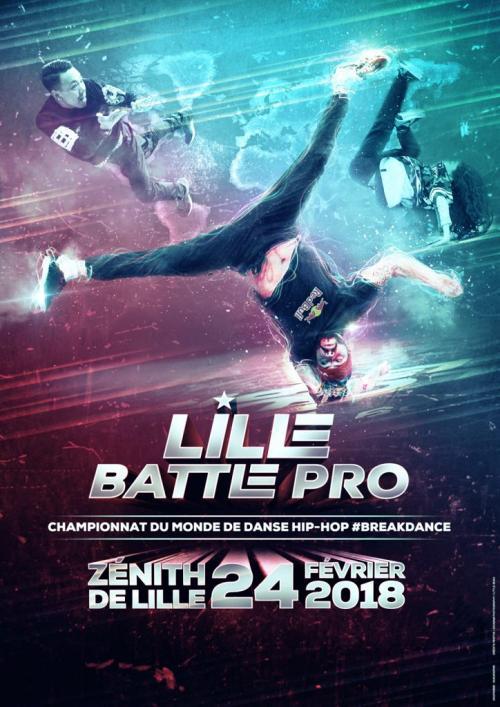 Lille Battle Pro – Championnat du monde de danse hip-hop
