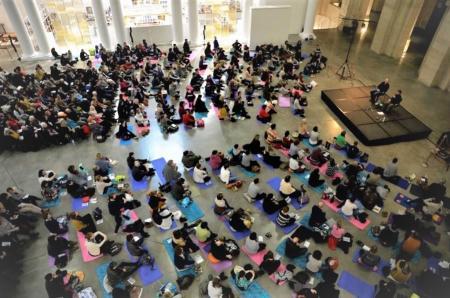 De la méditation en ligne avec le Palais des Beaux-Arts pendant le confinement