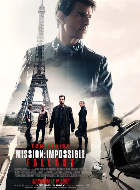 «Mission : Impossible – Fallout» : Impressionnant Tom Cruise dans un modèle de cinéma d'action