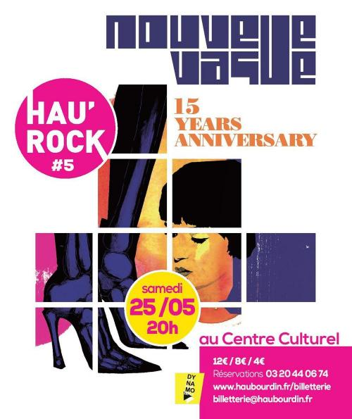 Hau'Rock #5 : Nouvelle Vague + Paprika Kinski