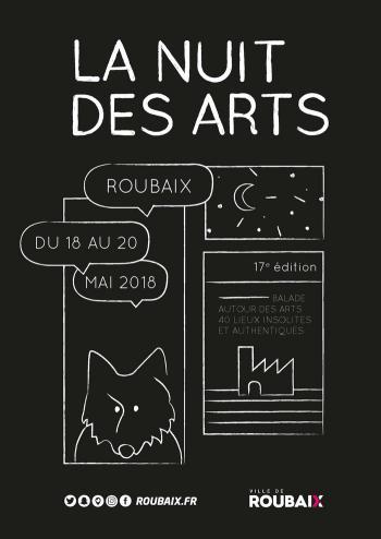 La 17ème édition de la Nuit des Arts à Roubaix