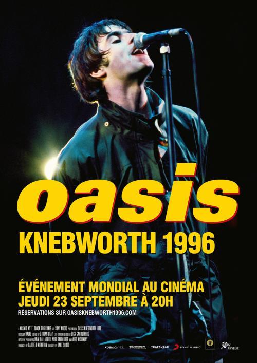Oasis Knebworth 1996, le documentaire événement à l'occasion des 25 ans