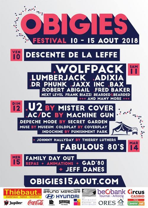 Obigies Festival 2018, un programme survitaminé