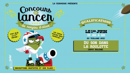 Concours de Lancer de Noyau d'Olive au Verlaine