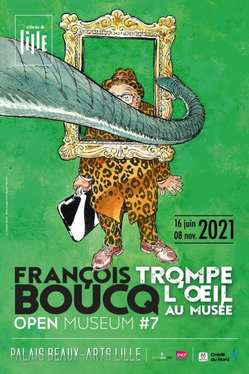 Open Museum – François Boucq trompe l'œil au musée !