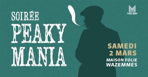 Peaky Mania, la soirée de présentation du festival Séries Mania