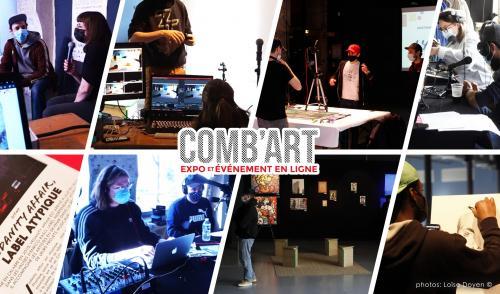 Les performances de l'évènement Comb'art à revivre en ligne