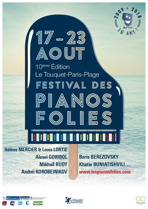 Les Pianos Folies 2018 – Les 10 ans !