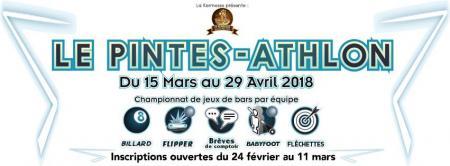 Les inscriptions au Pintes-Athlon, championnat de jeux de bars par équipe sont ouvertes !