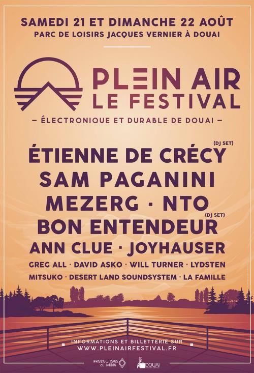 Plein Air, le festival électronique et durable