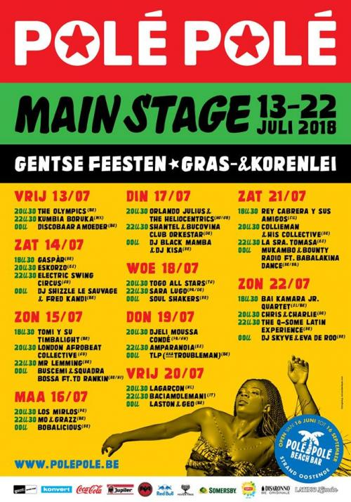 Polé Polé Festival 2018 à Gand