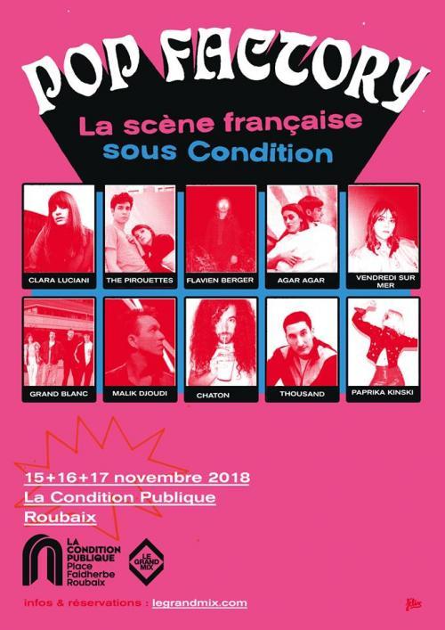 Pop Factory #3 : The Pirouettes + Vendredi Sur Mer + Malik Djoudi