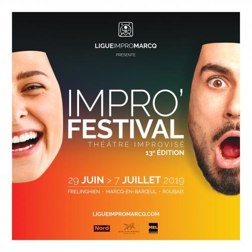 Impro' Festival, spectacle et stages