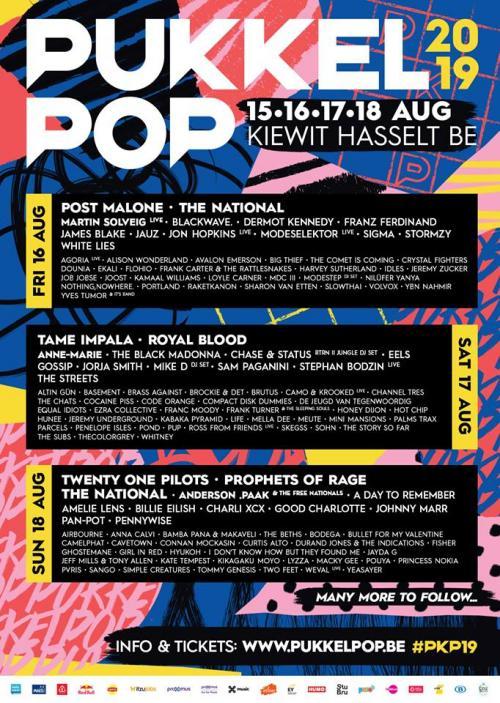 Pukkelpop Festival en Belgique