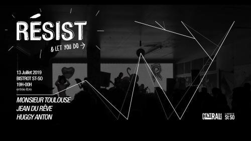 Resist, une soirée organisée par Central 43