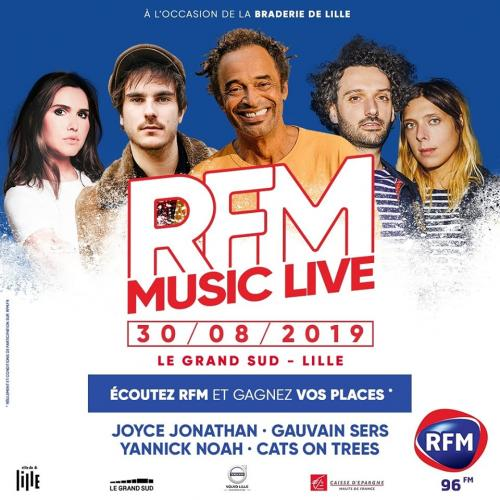 RFM Music Live : Yannick Noah + Cats on Trees…