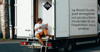 Le studio d'enregistrement mobile Road Studio présente son making-off