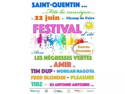 Festival Saint-Quentin Fête la Musique, première édition