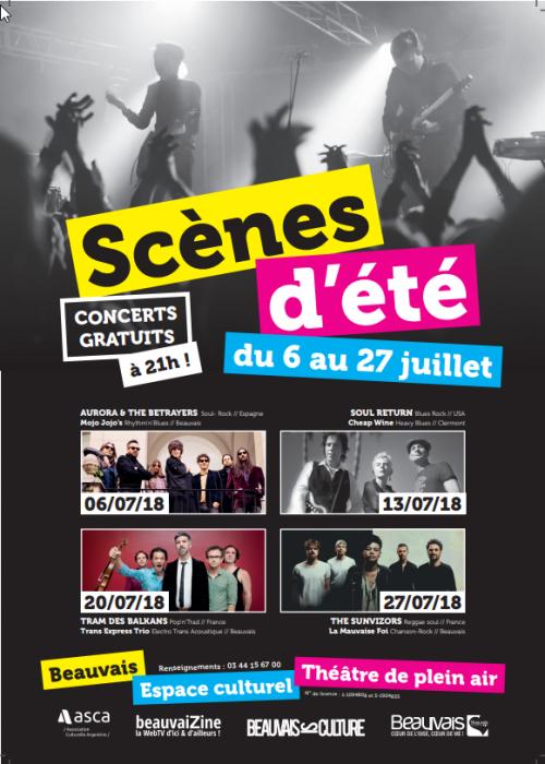 Les Scènes d'Été à Beauvais, 27e édition