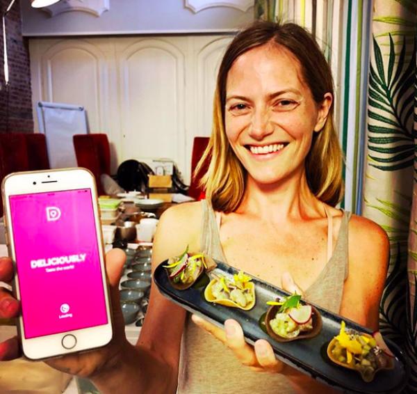 Deliciously app, l'appli pour voyager à travers la cuisine