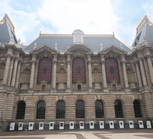 Le regard d'Hélène, l'expo en plein air du Palais des Beaux-Arts