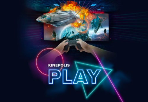 Le Kinepolis de Lomme vous propose de jouer à la console avec vos amis dans une salle de cinéma !