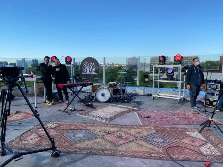 Show Must Go Home, un concert live sans public sur un toit lillois