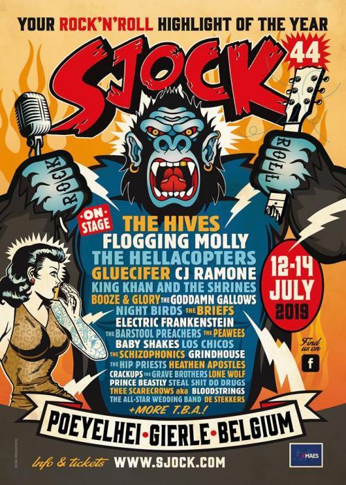 Sjock Festival en Belgique