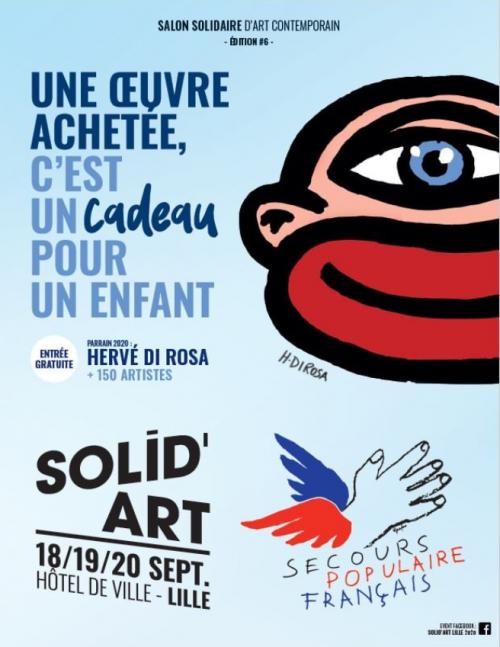 Solid'Art, le salon solidaire d'art contemporain