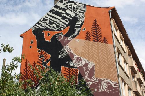 Street Art et Architecture à vélo