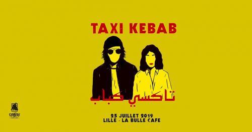 Taxi Kebab + Molto Morbidi à la Bulle Café