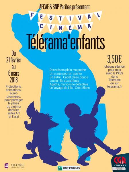 Les enfants aussi ont leur festival de cinéma avec Télérama