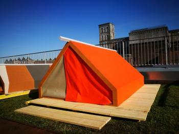 Un camping sur les toits à Roubaix c'est possible, et on vous en donne la preuve !