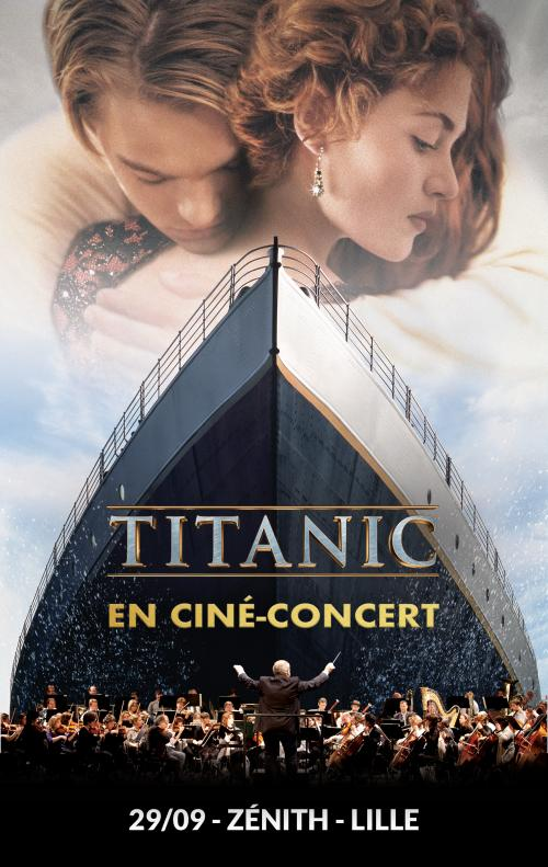 Titanic en ciné-concert au Zénith