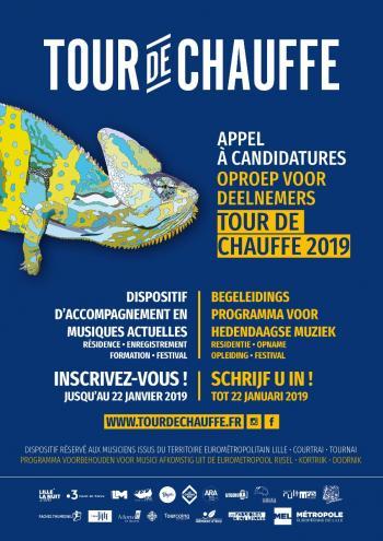 Les inscriptions pour Tour de Chauffe 2019 sont ouvertes !
