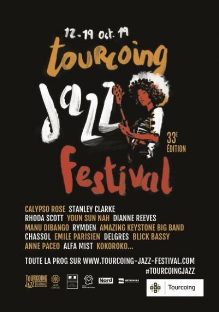 Légendes et acteurs locaux se rejoignent pour le 33e Tourcoing Jazz Festival