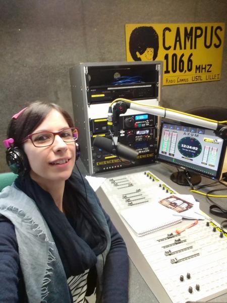Déferlante Nord, l'émission de Valérie sur Radio Campus fête ses 10 ans