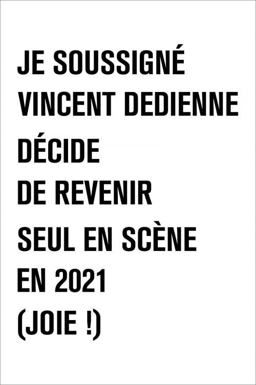 Vincent Dedienne revient avec son nouveau spectacle
