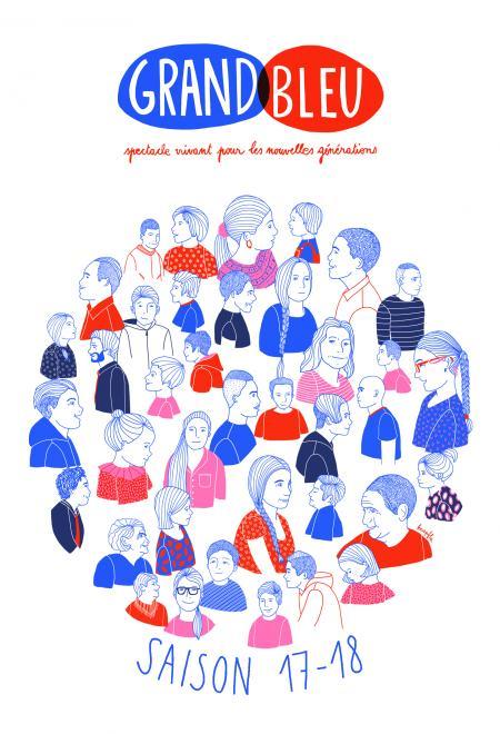 Une saison 2017/2018 pour «partager» au Grand Bleu