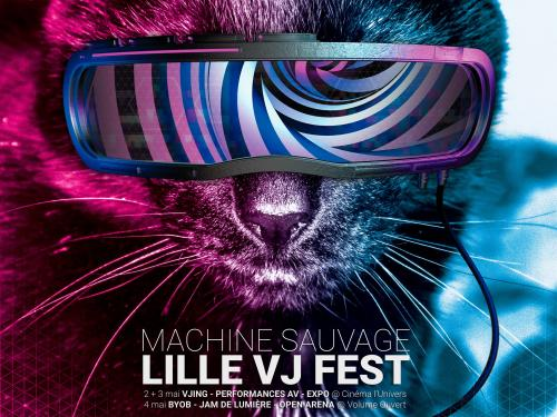 Lille VJ Fest, le festival de VJing participatif & DIY