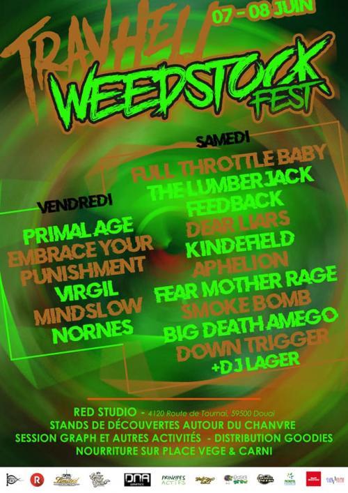 Weedstock Fest au Red Studio