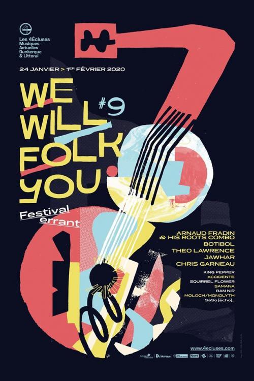 We Will Folk You, le festival errant des 4Ecluses s'agrandit