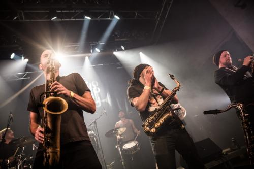 Youngblood Brass Band + PLDG au Grand Mix