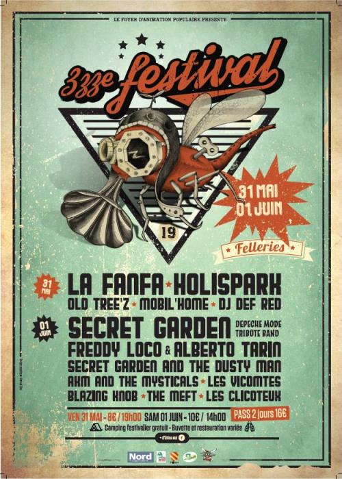 Zzze Festival à Felleries